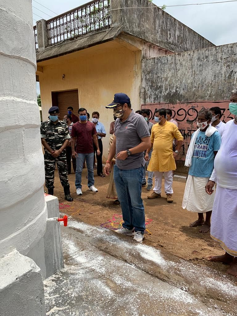 सुकमा : केरलापाल में सीआरपीएफ ने दिया टेरा फिल्टर प्लांट की सौगात