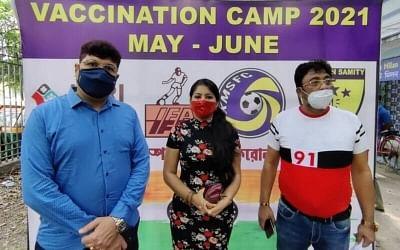 आईएफए ने कोलकाता में फुटबाल समुदाय के शुरू किया टीकाकरण अभियान