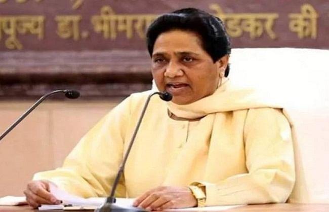 दुर्दिन: छोटे नेताओं को कई बार पार्टी में शामिल करा रही 'सपा' : मायावती