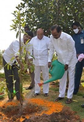 तेलंगाना के सांसद का ग्रीन चैलेंज जा रहा है बदलाव