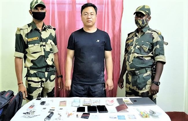 बांग्लादेश सीमा पर पकड़े गए चीनी नागरिक ने किये चौंकाने वाले खुलासे