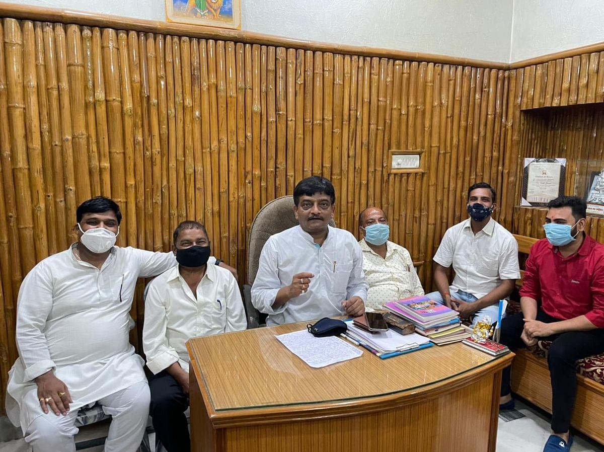 रामनगरी में विस्थापित होने वाले व्यापारियों को दुकान देकर स्थापित किया जाय : सुशील जायसवाल