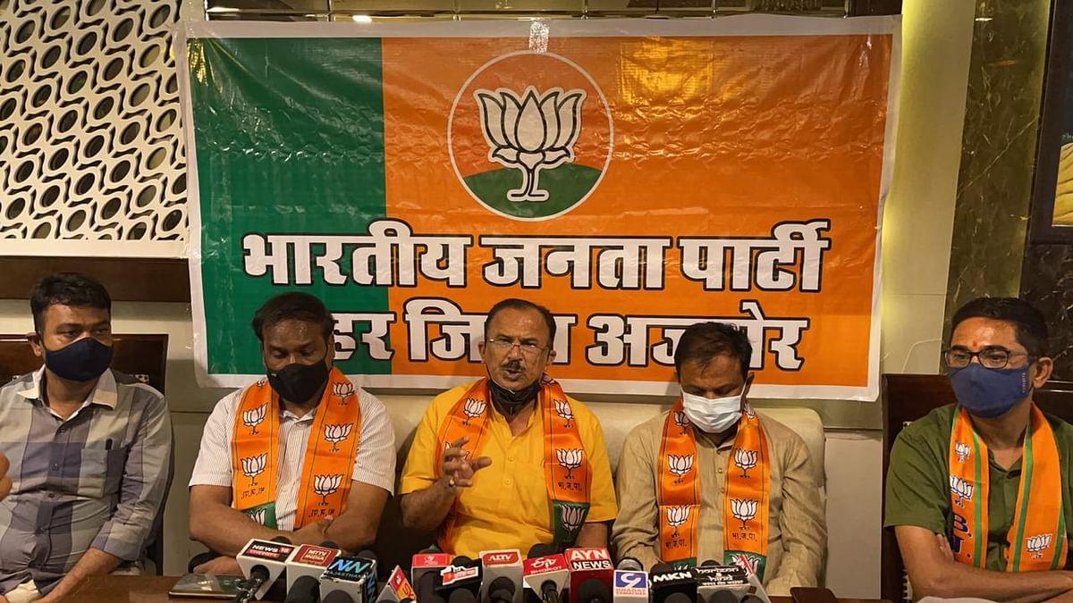 इंदिरा गांधी की तरह विरोधियों को कुचलने के नीति अपनाए हुए हैं मुख्यमंत्री गहलोत- देवनानी