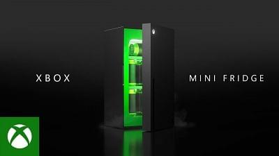 माइक्रोसॉफ्ट ने एक्सबॉक्स सीरीज एक्स-आकार के मिनी फ्रिज का अनावरण किया