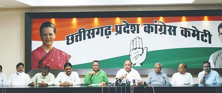 रायपुर : केंद्र सरकार छत्तीसगढ़ से कर रही सौतेला व्यवहार : मंत्री रविंद्र चौबे