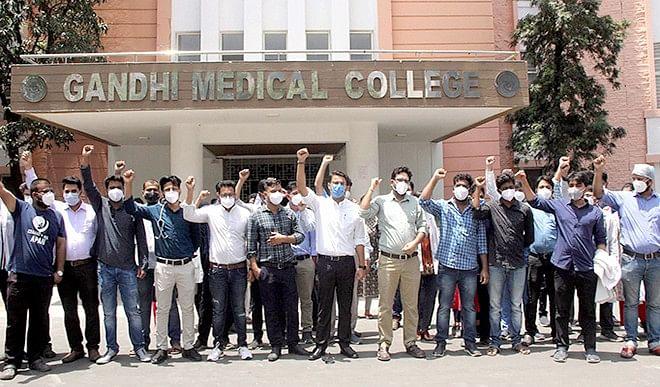 भोपाल जीएमसी के 28 जूनियर डॉक्टरों के इस्तीफे हुए मंज़ूर, भरने होंगे बॉन्ड के 30 लाख रुपये