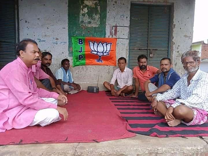 भाजपाइयों ने रामगढ़ के 13 मंडलों में पीएम के मन की बात का किया प्रसारण