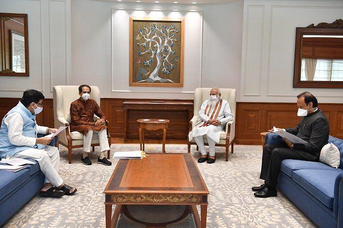 महाराष्ट्र के सीएम उद्धव ठाकरे ने प्रधानमंत्री मोदी से की मुलाकात