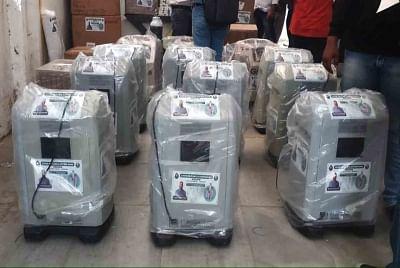 दिल्ली: अमेरिकन-इंडिया फाउंडेशन ने उपलब्ध कराए ऑक्सीजन कंसंट्रेटर, वेंटिलेटर मॉनिटर