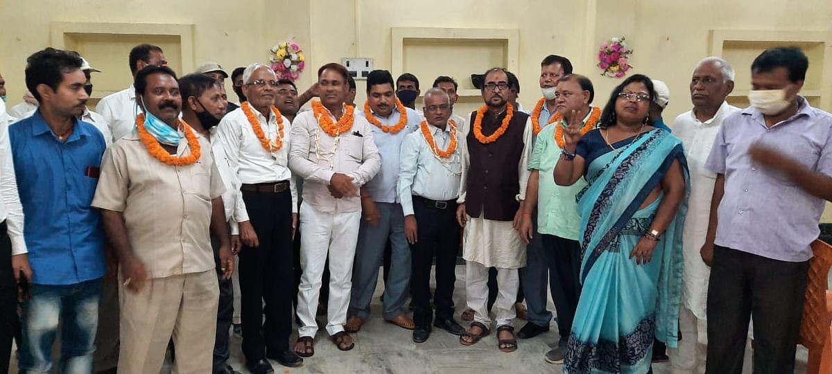 नवादा एडवोकेट एसोसिएशन के अध्यक्ष बने कृष्ण कुमार