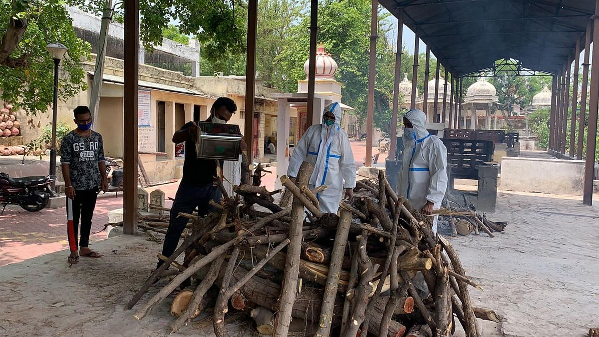 उदयपुर में कोरोना से लावारिस की मृत्यु का पहला मामला