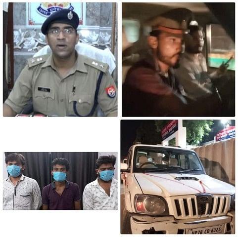 उप्र : कानपुर में वर्दी पहनकर ट्रकों से वसूली कर रहे तीन स्कार्पियो सवार बदमाश गिरफ्तार