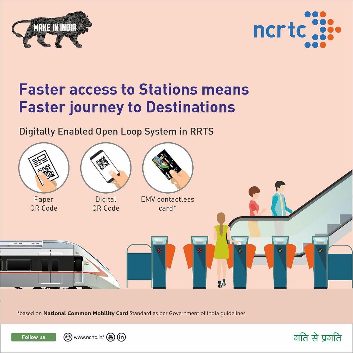रैपिड रेल में यात्रियों को मिलेगी आॅटोमेटिक फेयर कलेक्शन की सुविधा