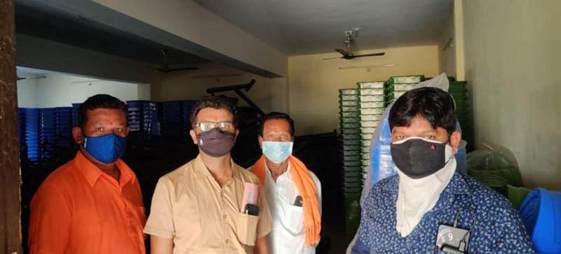 36 लाख के घटिया कूड़ेदान में हुआ भ्रष्टाचार- संजय पांडे