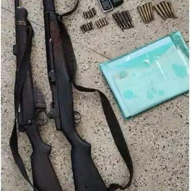 अमेरिकन राइफल के साथ टीएसपीसी एरिया कमांडर  गिरफ्तार, भारी मात्रा में गोली और पर्चा बरामद