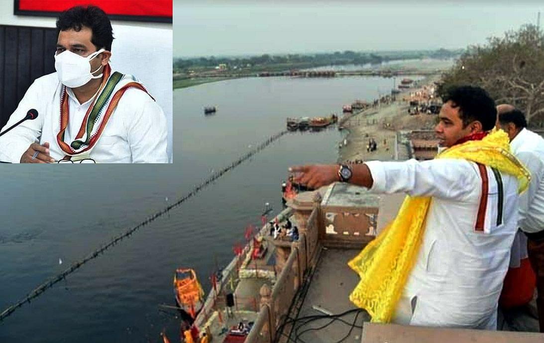 गंगा दशहरा की शुभकामना दे बोले ऊर्जामंत्री, 31 अक्टूबर के बाद नहीं गिरेगा यमुना में गंदा पानी