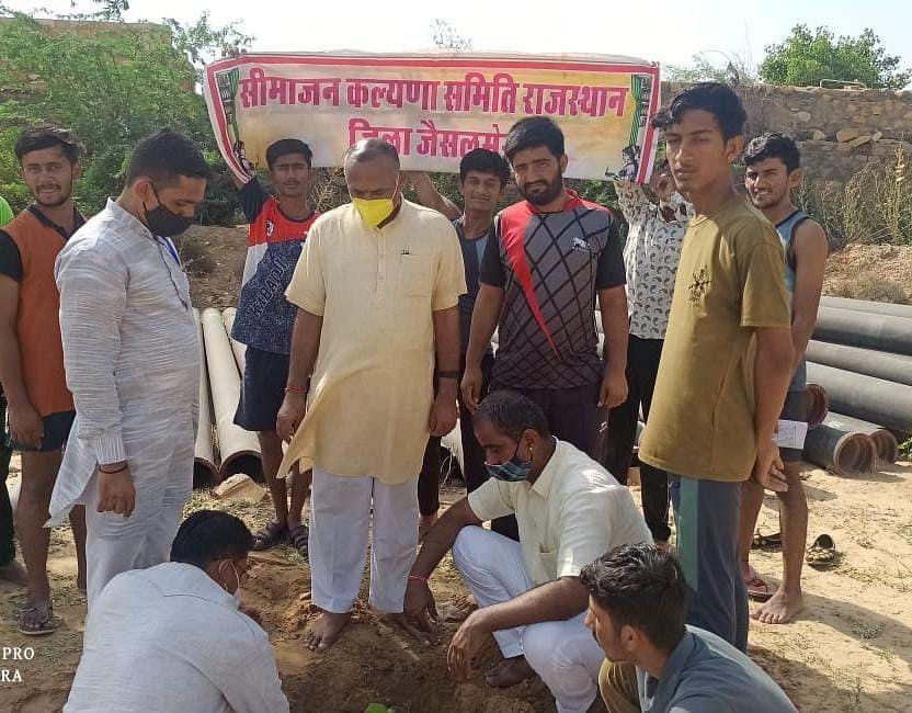 जैसलमेर जिले के दस हजार से अधिक परिवारों ने पर्यावरण संरक्षण का संकल्प लिया