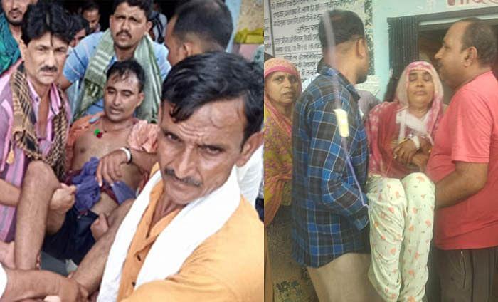 हमीरपुर में बच्चों के विवाद में ताबड़तोड़ फायरिंग, मां-बेटा घायल