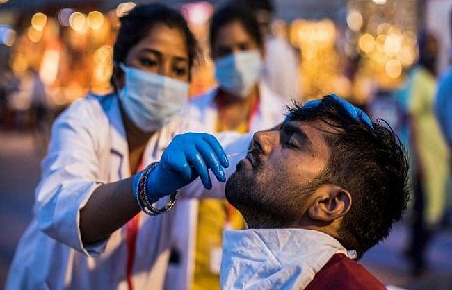 थोड़ी राहतः कोरोना के 91 हजार नए मरीज, 3403 लोगों की मौत