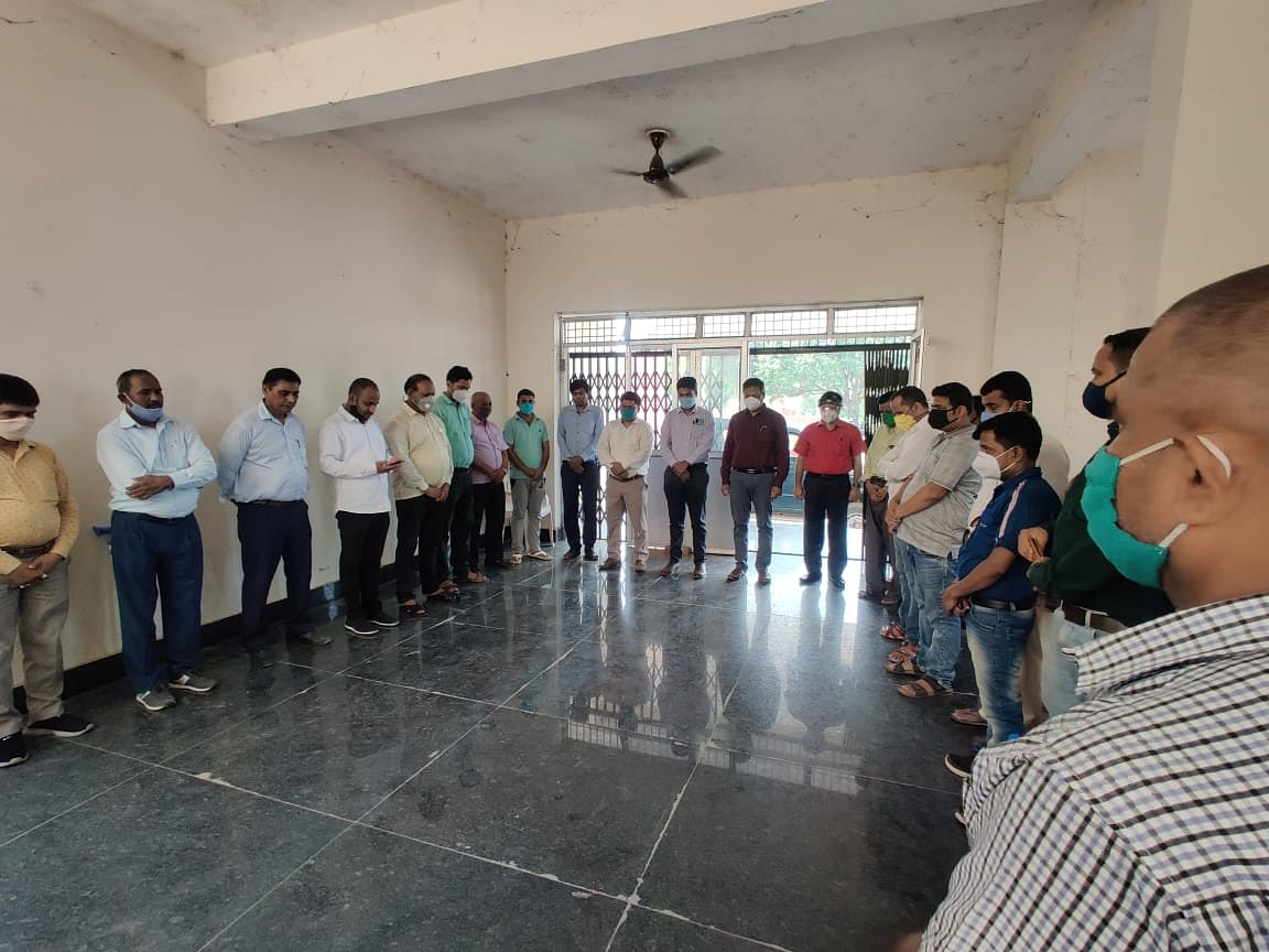 condolence-meeting-on-the-death-of-two-entry-operators-of-nawada-job-demand