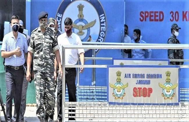 एनआईए की टीम पहुंची जम्मू एयरफोर्स स्टेशन, जांच अपने हाथ में ली