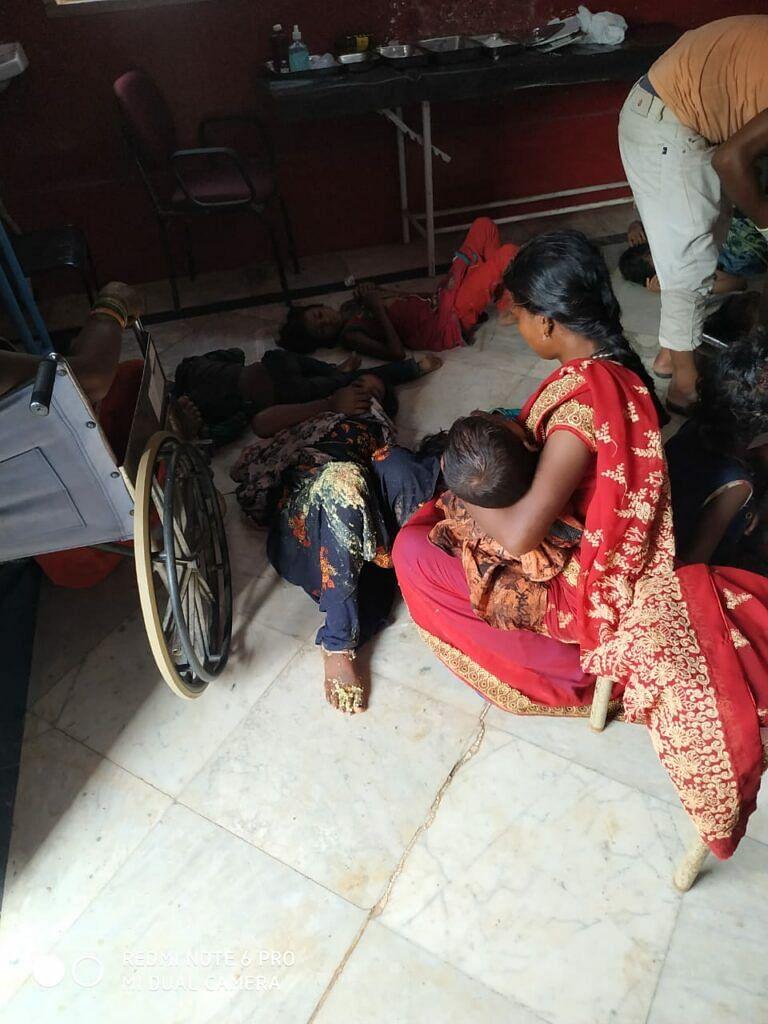 धरमजयगढ़ के पास ट्रक पिकअप भिड़ंत, चार लोगों की मौके पर मौत