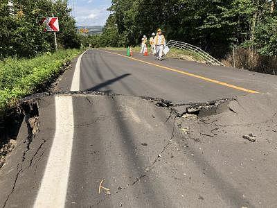 जापान के होक्काइडो में 5.4-तीव्रता का भूकंप
