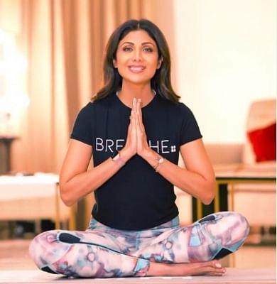 अंतर्राष्ट्रीय योग दिवस पर, शिल्पा शेट्टी ने कोविड से ठीक होने के लिए आसन सुझाए