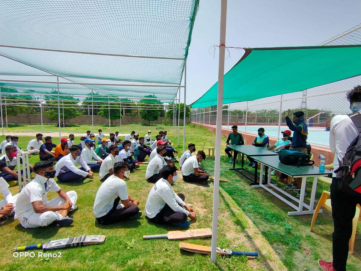 राजस्थान टेनिस क्रिकेट टीम चयन ट्रायल सम्पन्न