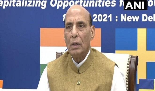 राजनाथ-ने-भारत-में-रक्षा-उत्पादन-केंद्र-बनाने-के-लिए-स्वीडन-की-कंपनियों-को-किया-आमंत्रित-