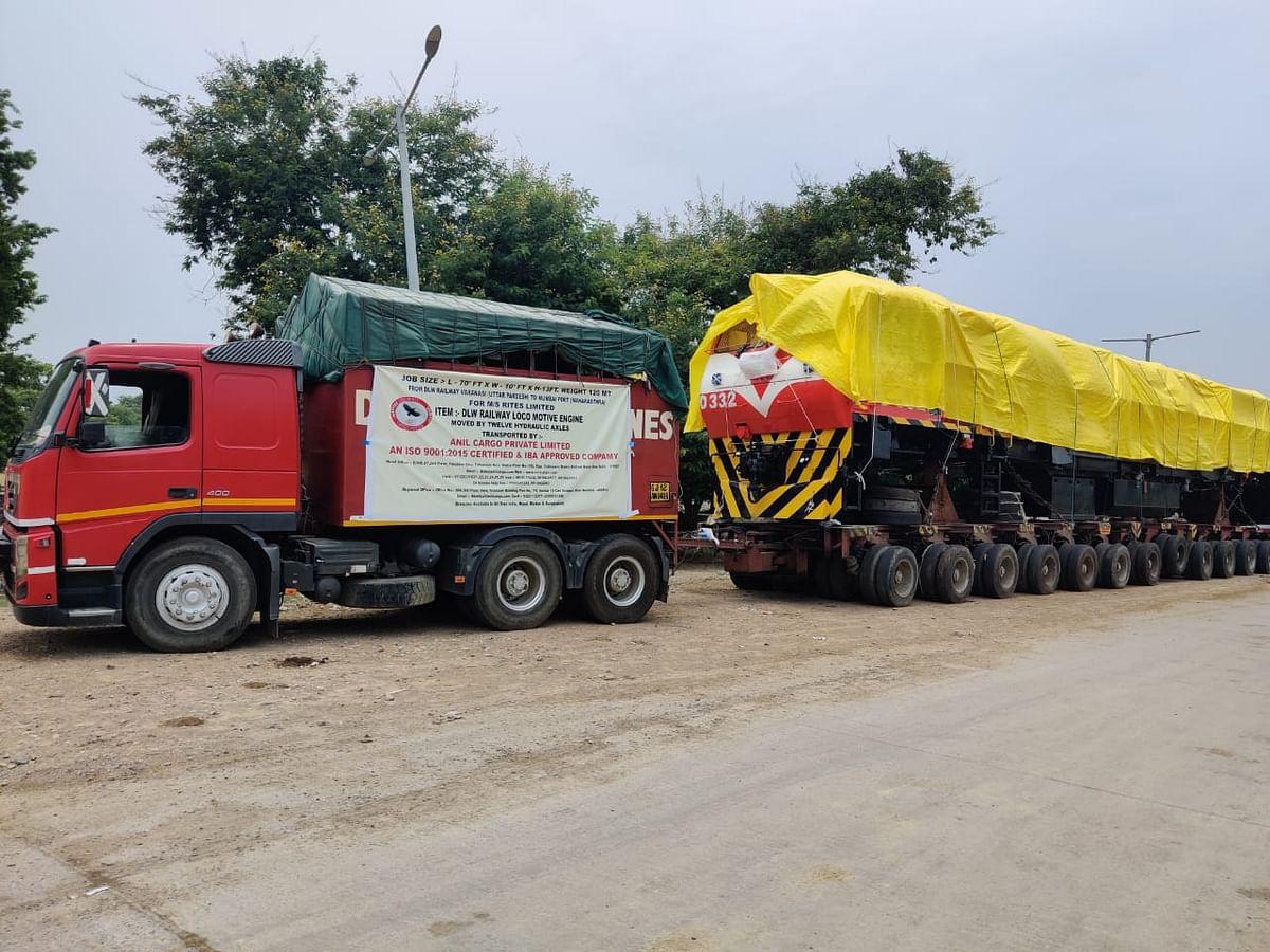 बरेका में निर्मित 3000 एचपी केप गेज रेल इंजन मोजाम्बिक को निर्यात