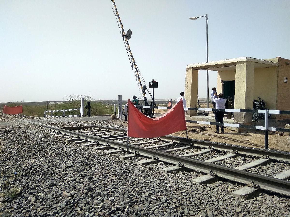 रेलवे की ब्रॉडगेज लाइन पर सभी मानवरहित समपार फाटक समाप्त