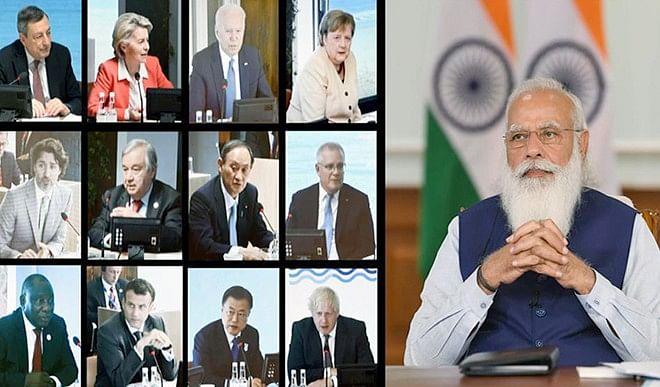 लोकतंत्र, आजादी, वैचारिक स्वतंत्रता की रक्षा करने में भारत जी-7 का स्वाभाविक सहयोगी है: मोदी