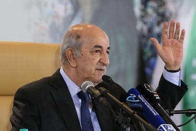 अल्जीरियाई राष्ट्रपति ने नया मंत्रिमंडल गठित करने के लिए परामर्श शुरू किया