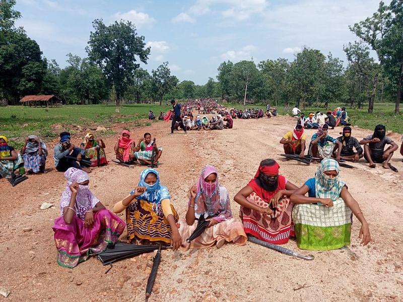 सुकमा : सिलगेर के बाद सारकेगुड़ा में जनसभा की तैयारी
