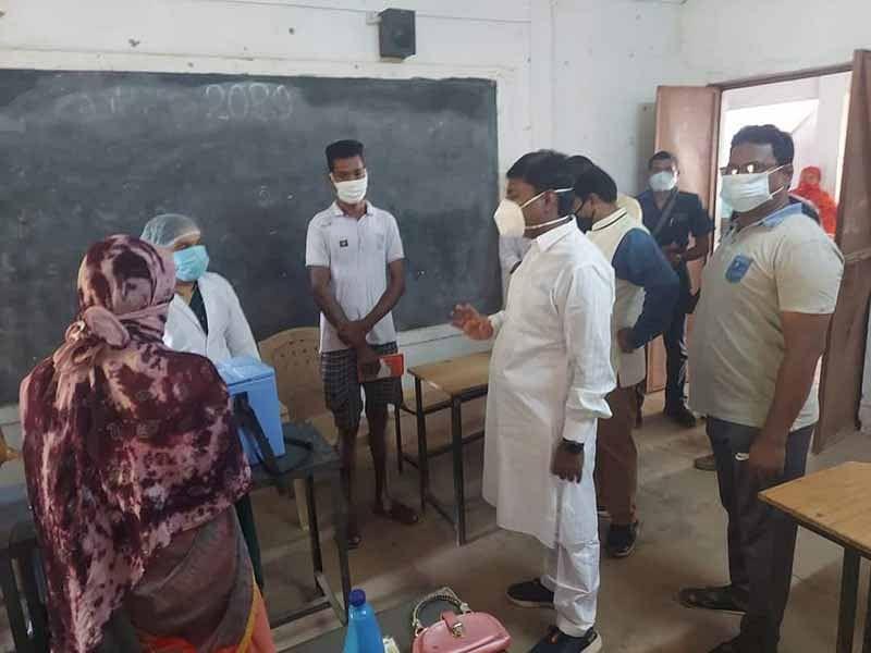 जगदलपुर:कोरोना की तीसरी लहर से पहले ग्रामीण क्षेत्रों में पूर्ण हो वैक्सीनेशन - केदार कश्यप