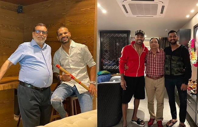 'फादर्स डे' पर भारतीय क्रिकेटरों ने शेयर किए इमोशनल मैसेज