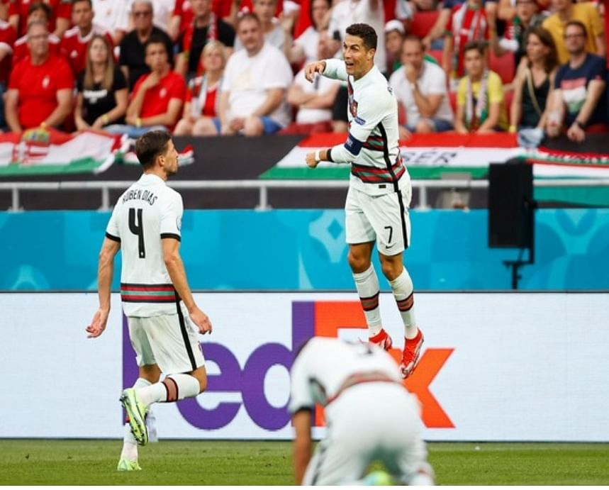यूरो 2020 : पुर्तगाल ने हंगरी को 3-0 से हराया