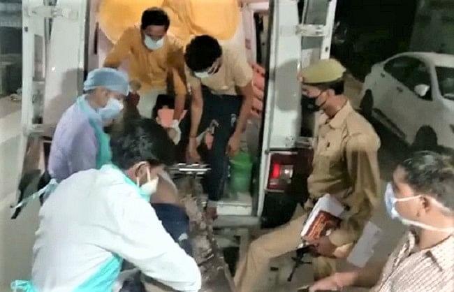 कानपुर में मिनी बस व टैम्पो की टक्कर, 16 यात्रियों की मौत