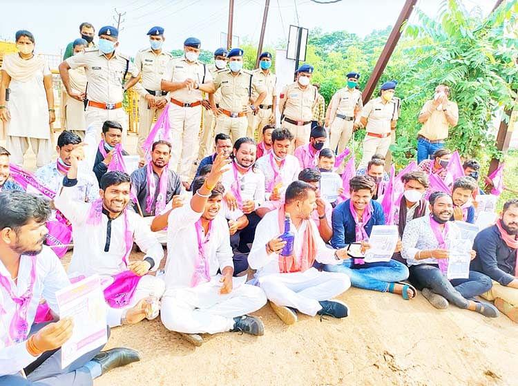 रायपुर : सिर्फ बहरी ही नहीं अंधी भी है कांग्रेस की सरकार : प्रदीप साहू