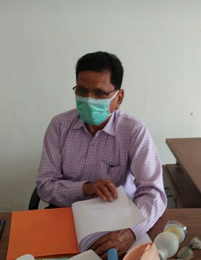 जिले में मेगा कैम्प लगाकर कोविड रैपिड एंटीजन जांच किया गया