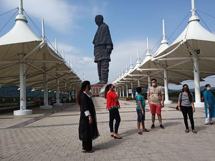 आज से पर्यटकों के खुला स्टैच्यू ऑफ यूनिटी, पहले दिन सिर्फ 300 पर्यटक पहुंचे