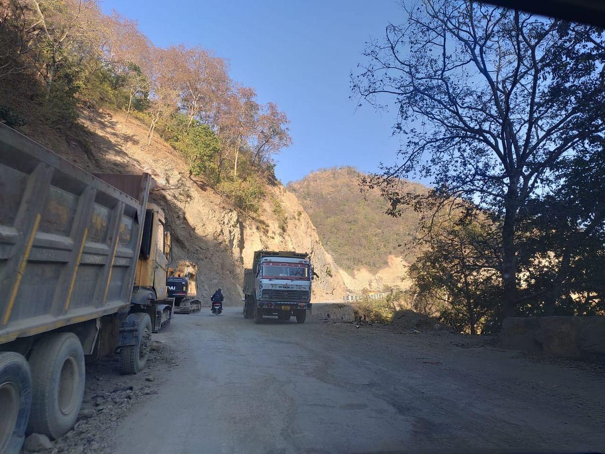 ऋषिकेश-बदरीनाथ हाईवे पर यातायात बहाल