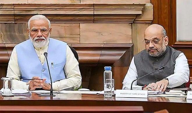 PM मोदी कर रहे हैं मंत्रियों संग बैठक, 2 साल में किए गए कामकाज का ले रहे हैं लेखा-जोखा