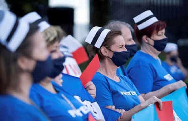 न्यूजीलैंड में नर्सें हड़ताल पर