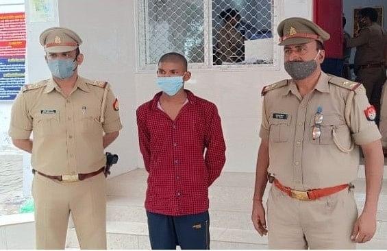 बिठूर में धारदार हथियार से काटकर युवक की हत्या में फरार आरोपी गिरफ्तार