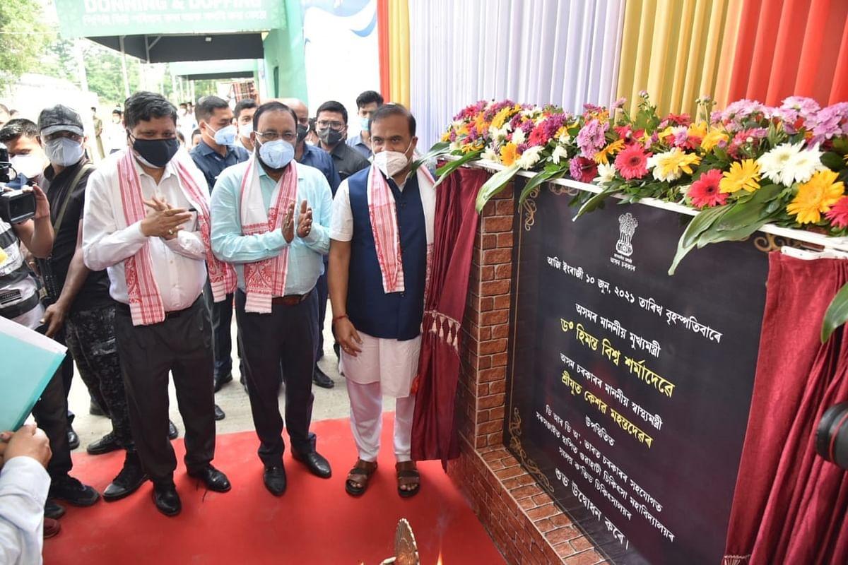 डीआरडीओ निर्मित 300 बेड वाले कोरोना अस्पताल का मुख्यमंत्री ने किया उद्घाटन