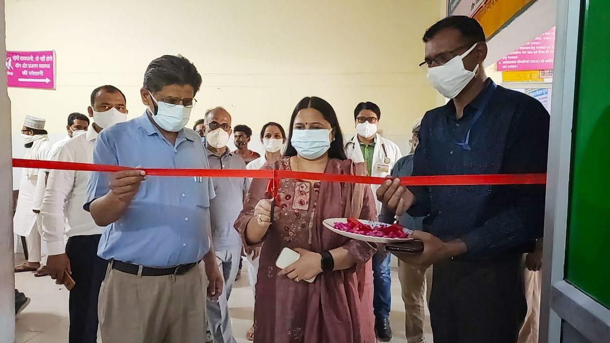 कमिश्नर की पत्नी ने किया कोविड टीकाकरण महिला स्पेशल बूथ का शुभारंभ