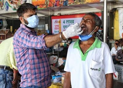 भारत में 24 घंटे के दौरान 41,383 नए कोविड मामले, 507 मौतें