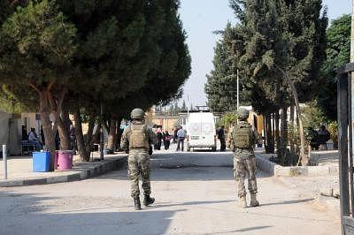 तुर्की सेना ने सीरिया में कुर्द मिलिशिया को निशाना बनाया